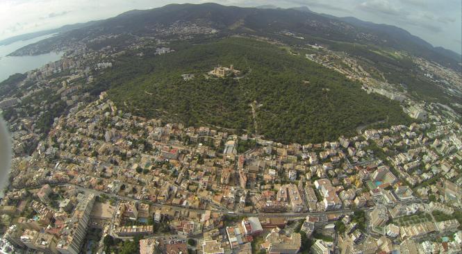 Der Bellver-Park rund um die Burg ist Palmas größtes Naherholungsgebiet. NE.