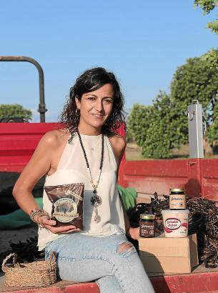 Joana Verger leitet das Unternehmen Es Garrover de Mallorca in Llucmajor.