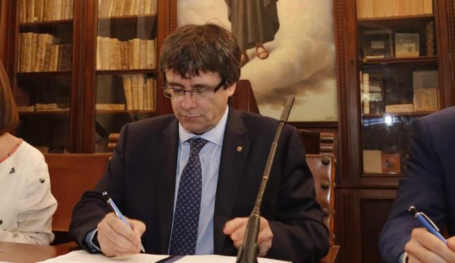 Im Dezember könnte in Katalonien ein neues Parlament gewählt werden.