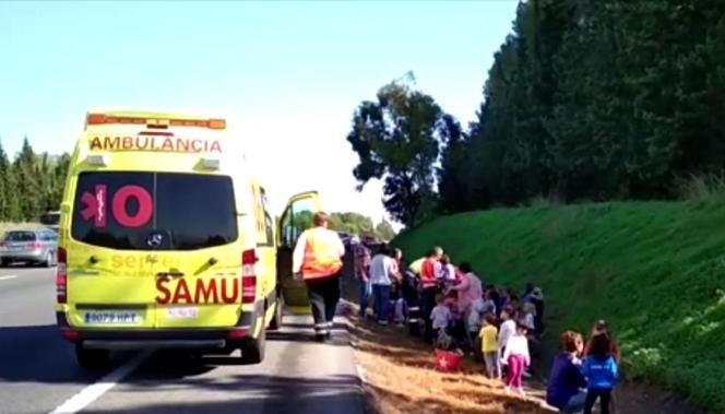 Auch ein Krankenwagen war an den Brandort geeilt.