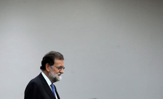 Der spanische Ministerpräsident Mariano Rajoy löste das katalanische Regionalparlament auf.