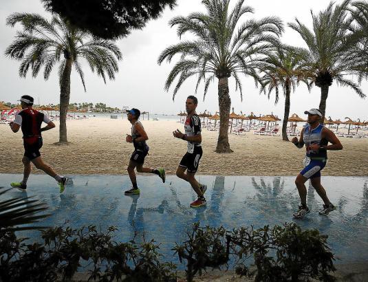 Eine Szene vom Mallorca-Ironman des vergangenen Jahres.