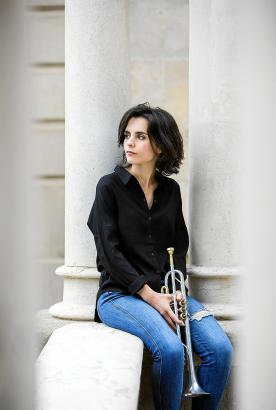 Andrea Motis tritt mit dem Joan Chamorro Quartet im Trui Teatre in Palma auf.