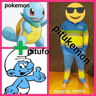 Eine Mischung zwischen Pokemon und Schlumpf: So fühlen sich die städtischen Arbeiter in ihrer neuen Uniform.