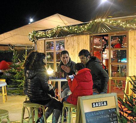 Vom 25. November bis 17. Dezember werden sich die Gäste wieder ein Stelldichein geben.