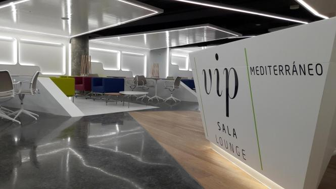 Der Flughafen Palma beschreibt seinen neuen VIP-Bereich im C-Terminal als modern, hell und bequem.