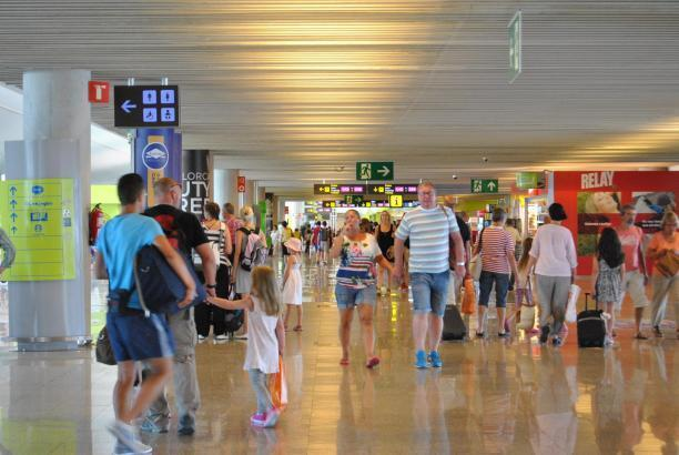 Viel los war am Flughafen Palma auch diesen Oktober.