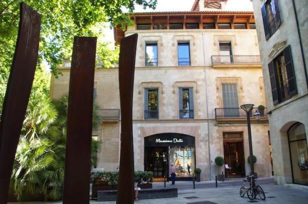 Das Hotel Can Alomar im Herzen der Balearen-Haupstadt.