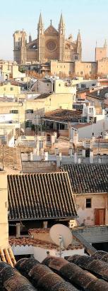 So ein toller Blick auf die Kathedrale von Palma treibt den Mietpreis in die Höhe.