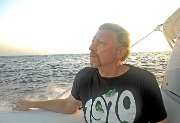 Gedreht wurde mit Boris Becker auf einer Yacht vor Ibiza.