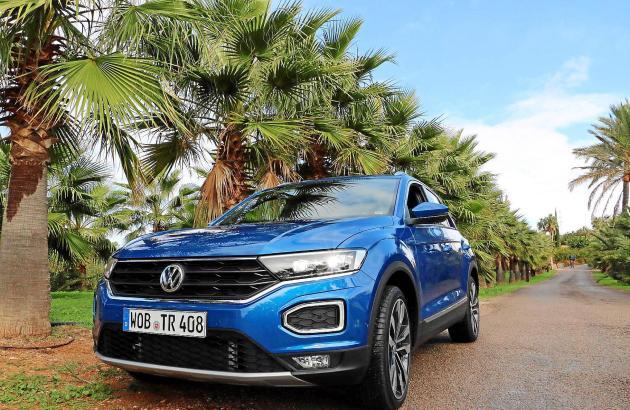 Das neue SUV-Modell auf einer Event-Finca bei Sineu in der Inselmitte Mallorcas.