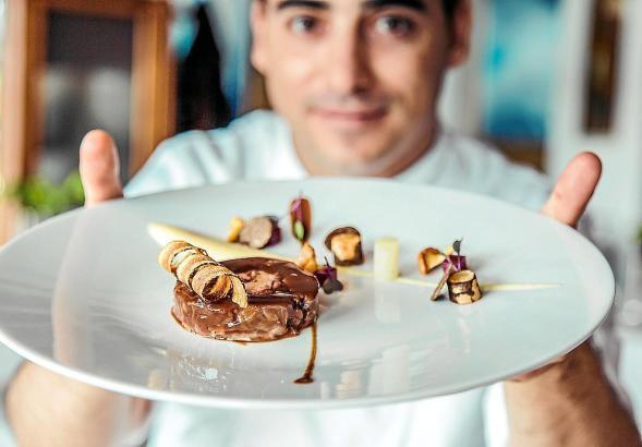 Mallorcas frischgebackener Sternekoch José Miguel Navarro vom Restaurant Es Fum.