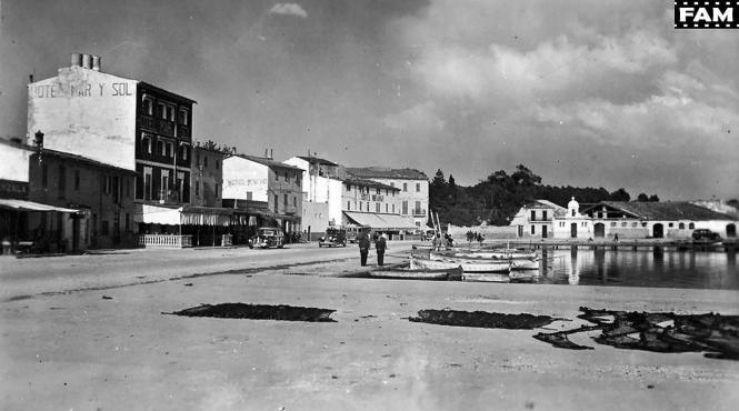 Port d'Alcúdia war in den 1930er Jahren kein gefragter Tourismusort.