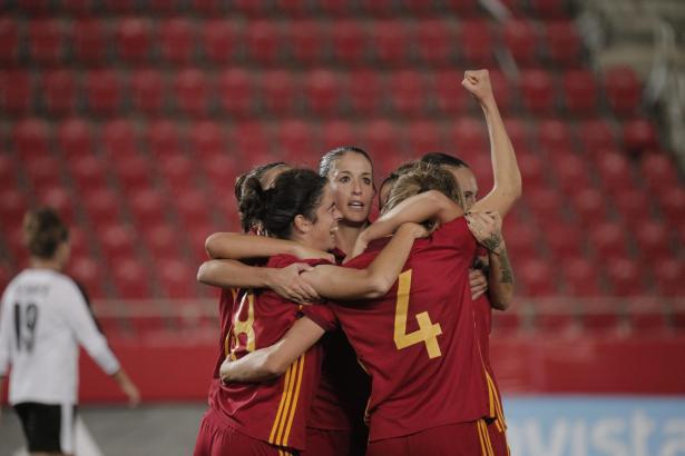 Mit 4:0 setzte sich Spanien gegen Österreich durch.