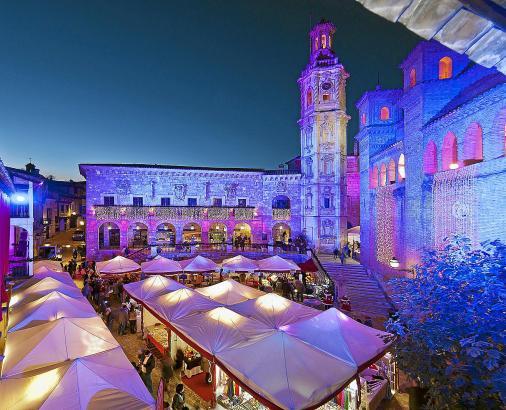 Vom 1. bis 10. Dezember geht es im Pueblo Español in Palma weihnachtlich zu.