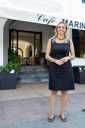 Maria Frontera betreibt ein Hotel in Port de Sóller.