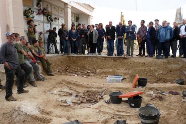 Die 14 identifizierten Toten im Massengrab von Porreres stammten aus elf mallorquinischen Orten.