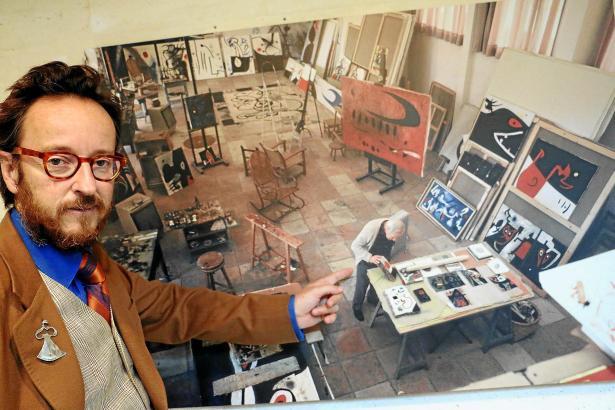 """Joan Punyet über seinen Großvater: """"Miró war ein Poet im Goethe'schen Sinn."""""""