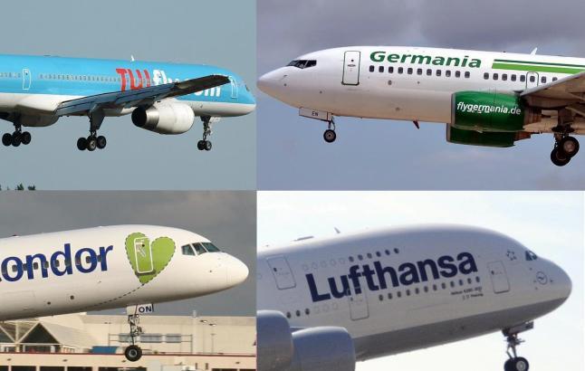 Mehrere Airlines sollen gestrandete Urlauber nach Hause bringen.