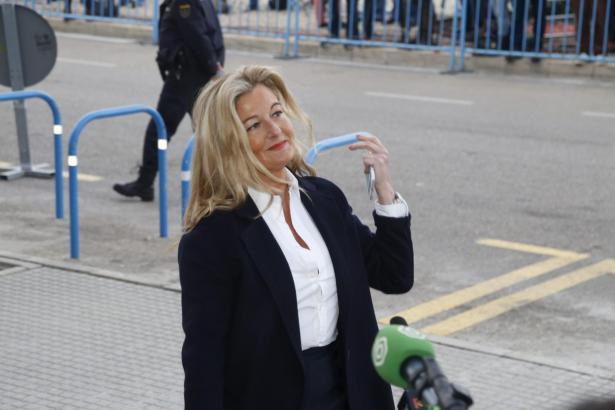 López Negrete auf dem Weg zu einem Gerichtstermin auf Mallorca.