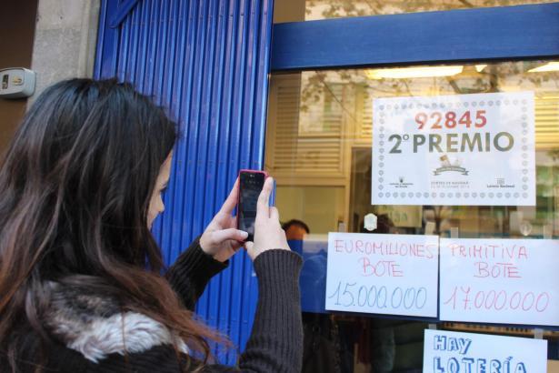 Die Weihnachtslotterie elektrisiert ganz Spanien.
