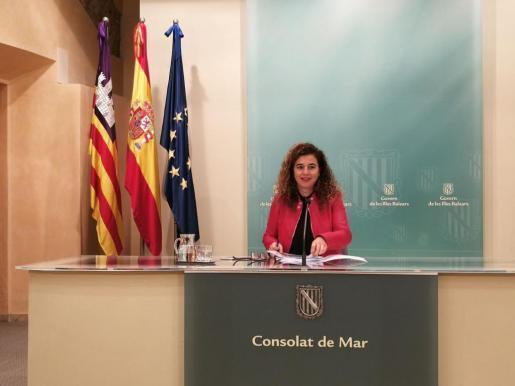 Pilar Costa ist balearische Innenministerin und Regierungssprecherin.