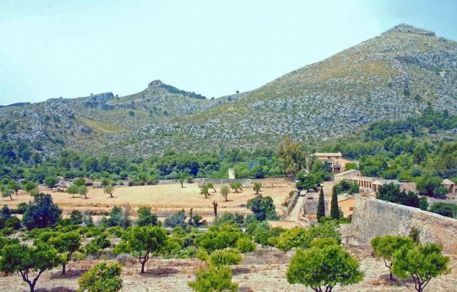 Das Landgut Galatzó bei Calvià im Südwesten von Mallorca.