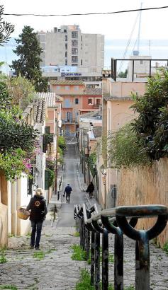 Palmas steilste Treppen finden sich im El-Terreno-Viertel, wissen Kenner.