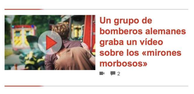 Screenshot von der Internetseite der spanischen MM-Schwesterzeitung Ultima Hora vom Sonntag, 7. Januar 2018.