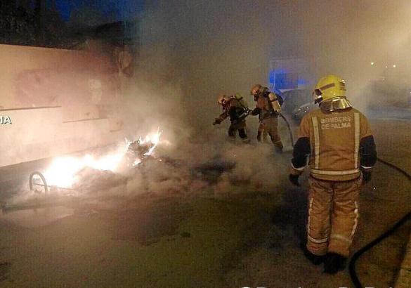 Die Feuerwehr war zum Glück schnell vor Ort.