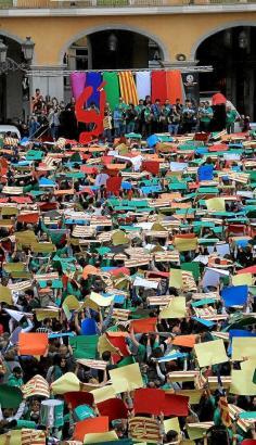 In der Vergangenheit hatte es mehrfach Demonstrationen für die Verwendung des Katalanischen auf Mallorca gegeben.