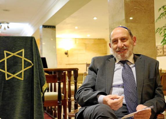 Abraham Barchilón steht seit zehn Jahren der jüdischen Gemeinde der Balearen vor.