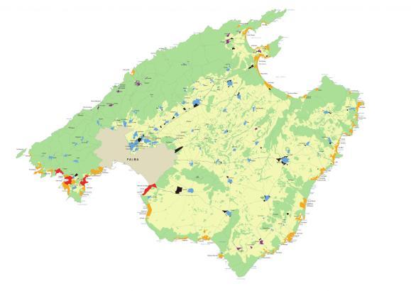 Der Inselrat von Mallorca hatte seinen Zonenplan am 19. Januar 2018 präsentiert.