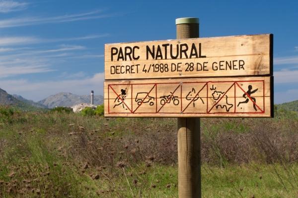 Der Naturpark ist die Heimat vieler Vogelarten und anderer Tiere.