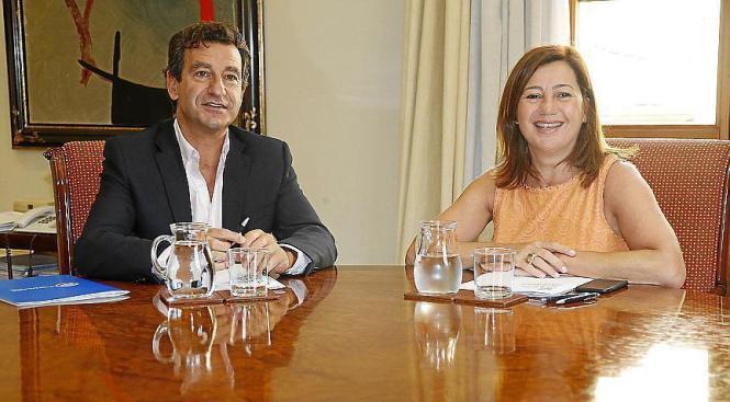 Die Balearen-Bürger sind mit der Arbeit von Francina Armengol (PSOE) zufrieden. Neben der Ministerpräsidentin ist ihr Widersache