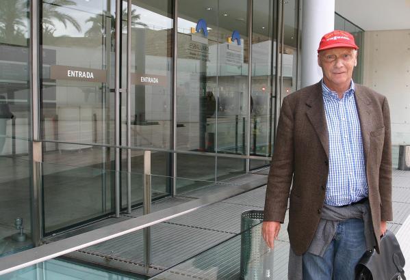 Vor einigen Jahren besuchte Niki Lauda in Palma das Museum Es Baluard.