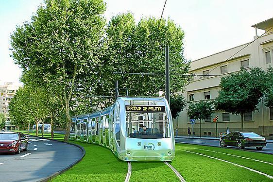 Dieses Tram-Projekt sollte eigentlich ab 2011 verwirklicht werden. Daraus wurde nichts.