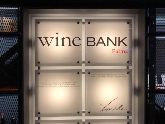 Die Wein-Bank in Palma hat am 2. Februar eröffnet.