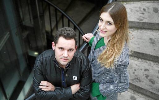 """Jaume Carrió aus Esporles und Laura Gost aus Sa Pobla haben einen """"Goya"""" gewonnen."""