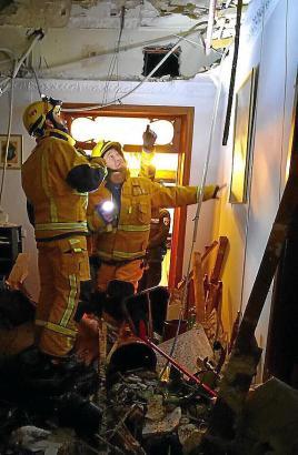 In Palma stürzten am Dienstag und Mittwoch zwei Gebäude ein.