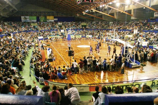Schon im Mai 2004 füllten die Harlem Globetrotters den Sportpalast Son Moix.