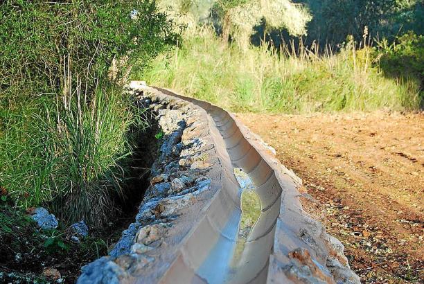 Im Naturpark Mondragó bei Santanyí ist das alte Kanalsystem wieder freigelegt worden.