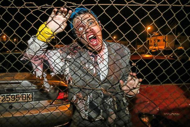 So wie hier im vergangenen Jahr auf Ibiza könnten die Zombies in Capdepera auch aussehen.