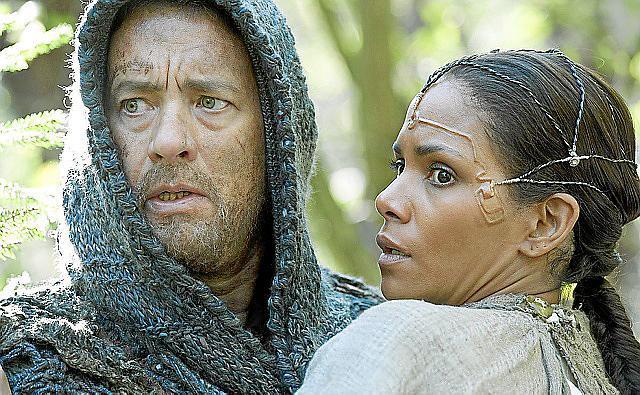 In einer postapokalyptischen Gesellschaft suchen Zachry (Tom Hanks) und Meronym (Halle Berry) eine geheimnisvolle Kommunikations