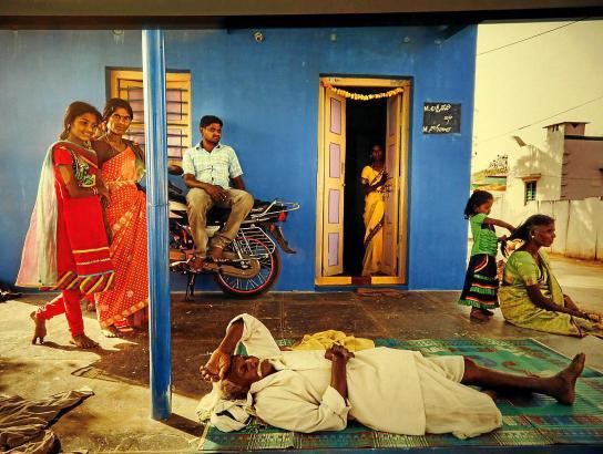 Das Caixa Forum zeigt Fotografien aus Anantapur von Cristina García Rodero.