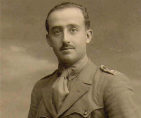 Francisco Franco, hier als junger Offizier, war von 1933 bis Ende 1934 balearischer Militärgouverneur in Palma.