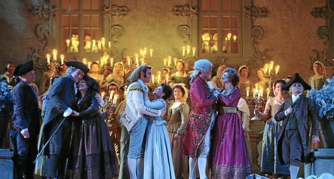 Mozart-Oper in historischen Gewändern: Das Teatre Principal übernimmt eine Produktion des Teatro de la Maestranza in Sevilla.