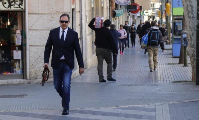 Richter Manuel Penalva in Palma de Mallorca.