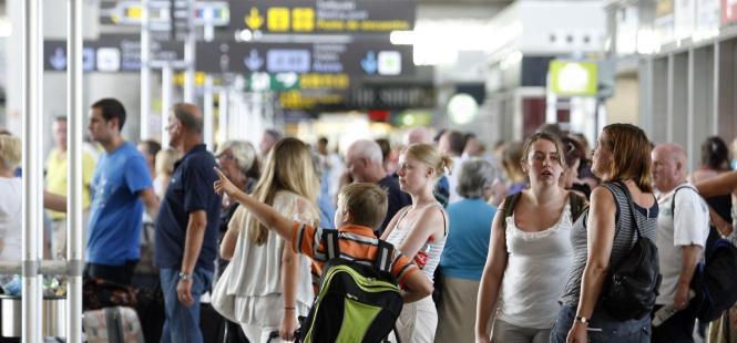 Noch benutzten in einem Februar so viele Menschen den Flughafen Palma wie 2018.