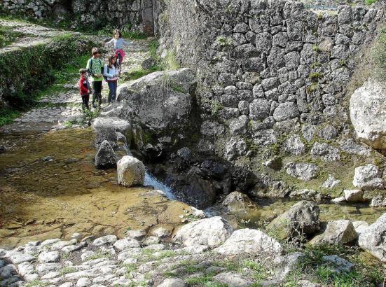 Der Barranc de Biniaraix auf Mallorca.
